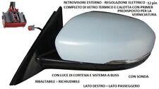 SPECCHIO RETROVISORE SINISTRO 802390 LAND ROVER EVOQUE 2011 AL 2014 12 PIN