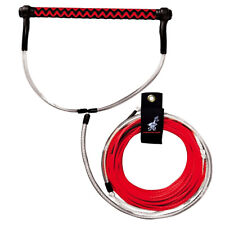 Airhead Ahwr-8 Dyneema Thermal Wakeboard Rope 70ft Long w/Handle Electric Red