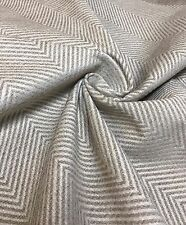 MARK & SPENCER / NEXT LIGHT BEIGE CHENILLE UPHOLSTERY FABRIC 2 METRES