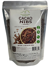 Greenfields Superfoods Organic Cacao Nibs, Unsweetened, Vegan,  24Oz, 1.5Lb