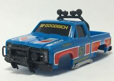 One Tomy AFX GMC 4X4 Pickup Body in Blue, NOS New Body, Fits AFX MT, Turbo