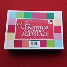 DCWV The Christmas Cardstock Matstack