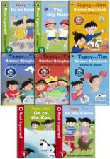 Topsy and Tim Learning Collection 8 Books Set As Seen On TV Read at home