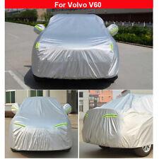 Car Cover Waterproof Sun UV Snow Dust Rain Protection For Volvo V60 2011-2021