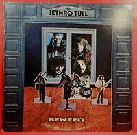 JETHRO TULL BENEFIT VINYL LP 1970 ORIGINAL PRESS NICE CONDITION! G+/VG!!D
