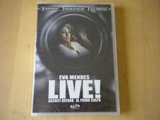 Live! Ascolti record al primo colpo DVD Eva Mendes Roven lingua italiano inglese