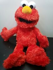 "PLAYSKOOL  2016 TALKING LAUGHING TICKLE ME ELMO 15"" PLUSH DOLL TOY"