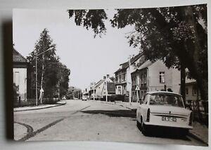 AK Velten, Hennigsdorfer Straße, Oranienburg, DDR, Brandenburg, Trabant, um 1973