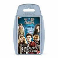 Harry Potter 30 Witches and Wizards Top Trumps Card Game