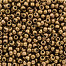Toho Round Size 6/0 Antique Bronze Seed Beads 11.5 Grams (Q94/3)