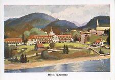 Hotel Tadoussac QC Quebec Que Canada Steamship Lines Unused Postcard D20