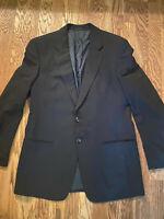 Armani Herren Designer Anzug Schwarz Größe 50