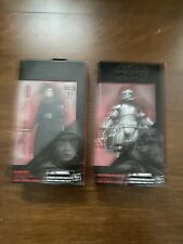 Captain Phasma And Kylo REN Star Wars The Black Series The Force Awakens 6""