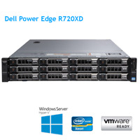 Dell PowerEdge R720XD 2 x E5-2690 v2 10Core 3.0Ghz 256GB RAM H710p Rails Bezel