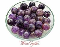 1 AMETHYST Mini SPHERE Crystal Marble Healing Crystal and Stone #AS40