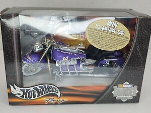 2002 Hot Wheels NASCAR Thunder Rides #14 Harrah's Motorcycle 1:18 Diecast