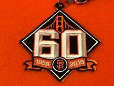 Patch Carabiner 60 Years San Francisco SF Giants April 2018 SGA New