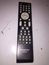 iSYMPHONY RC2001i LCD TV REMOTE - OEM -  LC16IH56 LC22IH5PB LC19IH5PB