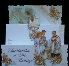 Invitaciones de,A Mi Bautizo (Spanish Baptism Christening invitations), Favors