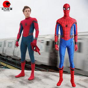 DFYM Spiderman Homecoming Costume Cosplay Spider Man Zentai Suit Halloween Adult