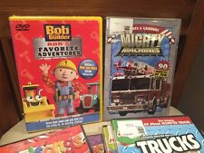 Bob The Builder -  8 DVD Lot/ (Read for Titles & See Pics) Mfg. Sealed