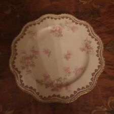 Antique Haviland Limoges Floral Plate