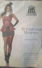 Franco American Steampunk Vampira costume