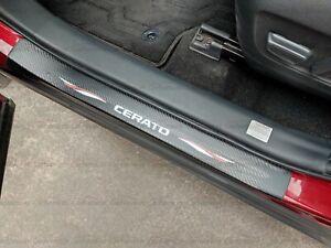 For Kia Cerato Car Accessories Door Sill Scuff Plate Protector Guard Sticker 20