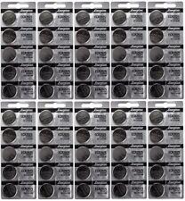 100 FRESH Genuine Energizer CR2025 ECR2025 3V Coin Button Battery Fast Shipping