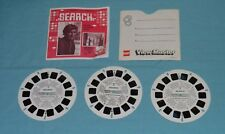 vintage SEARCH VIEW-MASTER REELS (3-reel set with booklet and front cover only)
