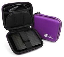 Purple Case W/ Belt Loop For Samsung M3 Slimline Portable Hard Drive, 840 Series