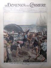 La Domenica del Corriere 20 Settembre 1908 Naufragio Luisa Bernini Edison Roma