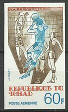 Tchad Sport Jeux Olympiques Volley Ball Olympic Games Non Dentele Imperf ** 1977