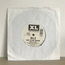 "SL2 - Way In My Brain / Drumbeats 7"" Old Skool Hardcore Vinyl XL Recordings 1992"
