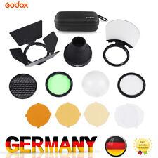 Godox AK-R1 Round Flash Head Accessories Kit for Godox V1 Speedlight& H200R P1U7