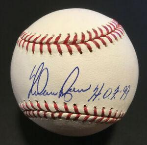 Nolan Ryan signed Official MLB Baseball INS HOF 99 Mint Auto Autograph Steiner