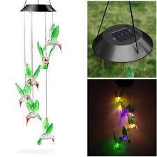 Colore alimentazio solare modifica SATURNO Vento Spinner Luce da Esterni Giardino Pensile