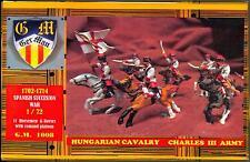 BUM Models 1/72 HUNGARIAN CAVALRY OF CHARLES III 1702-1714 Figure Set