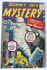 "Comics avant MARVEL ""JOURNEY INTO MYSTERY""  # 61"