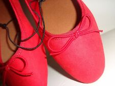 Ballerines Rouge style danseuse H&M taille 37