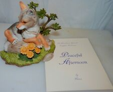 Coyote, Peaceful Afternoon, Woodland Animal Collection, Lenox Fine Porcelain