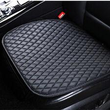 Universal Schwarz PU Leder Auto Sitzkissen Sitzbezug Sitzschutz für Opel BMW VW