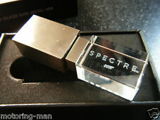 JAMES BOND 007 SPECTRE 8GB USB MEMORY STICK OFFICIAL PREMIER GLASS METAL RARE 11