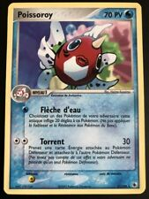 Carte Pokemon POISSOROY 21/109 Rare Rubis & Saphir Bloc ex FR NEUF