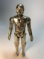 """Star Wars Vintage 1977 Lot B C3PO Kenner 3.75"""" Action Figure In Great Condition"""