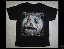 CHEECH AND CHONG Light Up America 2008 2009 Size Large Black T-Shirt