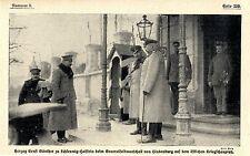 1916 * Herzog Ernst Günther zu Schleswig-Holstein bei Hindenburg * WW1