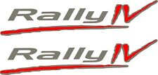 Daihatsu Sirion Rally IV 4  AWD replacement Hatch Boot Decals Stickers 1998-2005