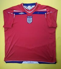4/5 England soccer jersey 2Xl 2008 2010 away shirt football Umbro ig93