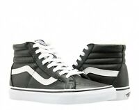 Vans Sk8-Hi Reissue Leather Fleece Black White Men Lifestyle Sneaker VN0A2XSBEU1